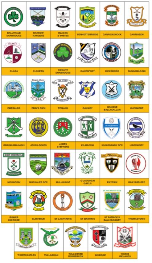 Kilkenny Gaa Crests