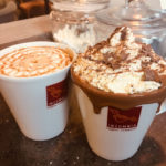 Aromatic coffee at Insomnia Kilkenny cafe