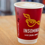 Compostable coffee cups at this Kilkenny cafe