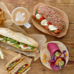 Wide variety of sandwiches and baked goodsavailable