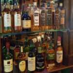 Wide variety of whikeys and gins available at this Kilkenny pub