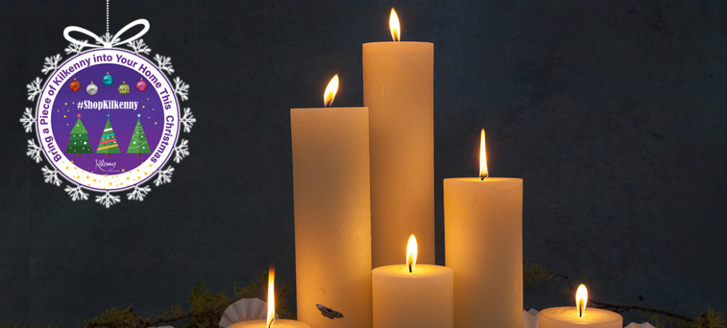 Kilkenny Online Christmas Market Candles Category Page Banner
