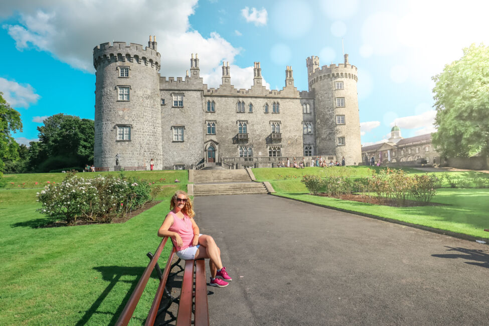 Journalist On The Run Kilkenny Castle Header