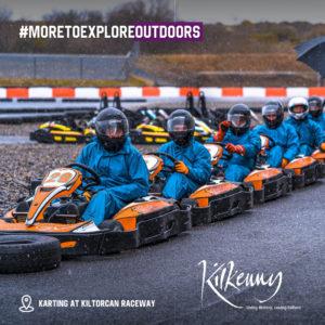 Karting At Kiltorcan Raceway