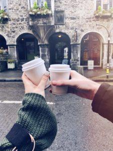 Sarah Hanrahan Rothe House Coffe Cups Kilkenny