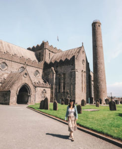 St Canices Cathedral Journalist On The Run