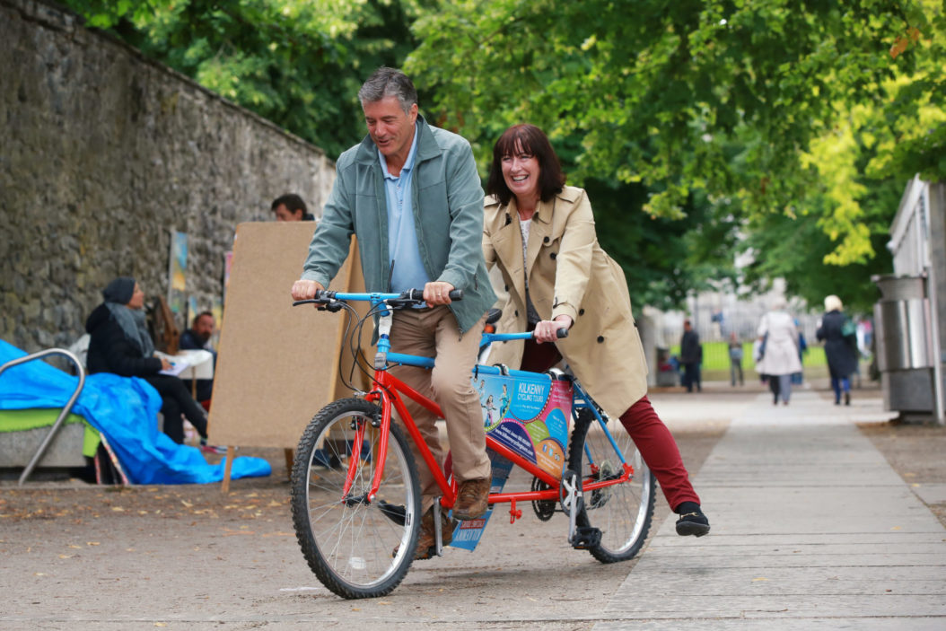 Trying A Cycle Tour In The Midieval City Of Kilkenny