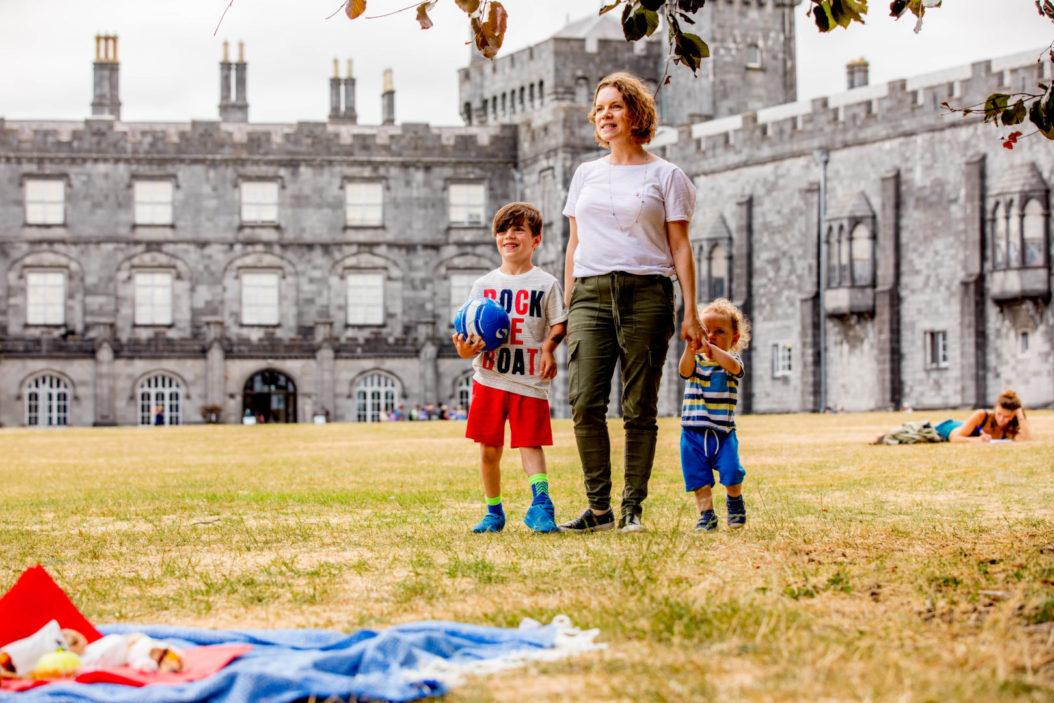 Picnic In Kilkenny Castle Parklands